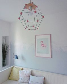 Diy lamps Made from airdry clay