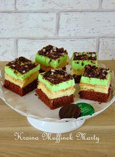 Kraina Muffinek Marty : Ciasto Miętusek, czyli ciasto mietowo- czekoladowe