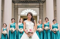 Beautiful blue dresses   Charlsie and Ben   It Takes Two events
