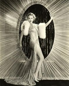 Roaring 20s , show girl, gown, starburst, glamour, glamorous, black and white