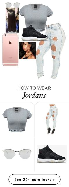 """Im bacc✨"" by badbitchtink on Polyvore featuring NIKE, Fendi, women's clothing, women, female, woman, misses and juniors"