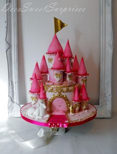 A Castle for a Princess - Cake by Dee