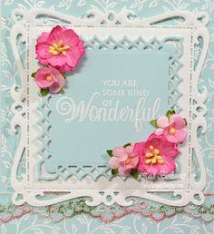 Embellished Dreams: Filigree Leaves Background Cling Stamp - JustRite Papercraft September New Release Day 2