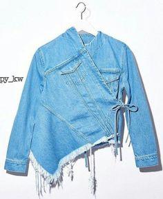 Необычные джинсовки (трафик) / Курточные переделки / ВТОРАЯ УЛИЦА