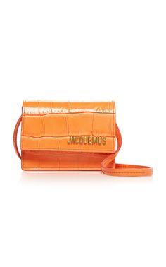 Le Bello Leather Mini Bag by Jacquemus Cheap Handbags Online, Popular Handbags, Popular Purses, Wholesale Handbags, Trendy Purses, Cute Purses, Large Purses, Fashion Handbags, Purses And Handbags
