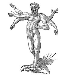 Gegenees - were a race of six-armed giants who inhabited the same island as the Doliones