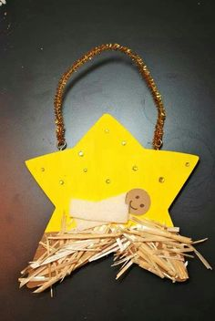 25 Preschool Christmas Crafts the Kids Will Love! is part of Christian Kids Crafts Jesus - These 25 preschool Christmas crafts will help you get crafty and make memories with your preschooler this holiday season! Have fun! Kids Crafts, Preschool Christmas Crafts, Nativity Crafts, Bible Crafts, Ornament Crafts, Christmas Projects, Holiday Crafts, Holiday Fun, Star Ornament