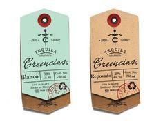 Creencias Tequila labels