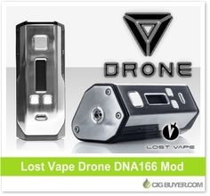 Lost Vape Drone BF DNA166 Squonk Box Mod – $137.99: http://www.cigbuyer.com/lost-vape-drone-bf-dna166-box-mod/ #ecigs #vaping #lostvape #lostvapeDrone #dronemod #dna166 #dna250 #vapelife #vapedeals
