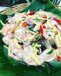 Shrimp Kinilaw or Kinilaw na Hipon is a Filipino delicacy usually served as appetizer or pulutan and can also be eaten as a main dish. This Shrimp Kinilaw recipe is the Filipino version of cebiche.