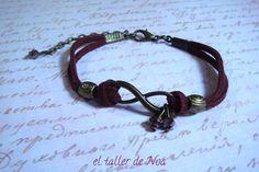 Pulseras ref. ibi15007. Infinito conjugado en múltiples colores. Una pulsera casual que da mucho juego. Más en www.eltallerdenoa.com Consultas eltallerdenoa@gmail.com #bisutería #jewelry #bracelet #joyería