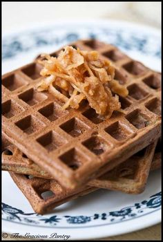 Protein Powder Waffles