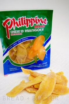 Cebu's dried mangoes