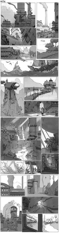 Steam and Magic thumbs by DavidSequeira.deviantart.com on @DeviantArt