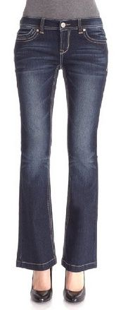 cool WallFlower Juniors Famous Flare Jeans - For Sale
