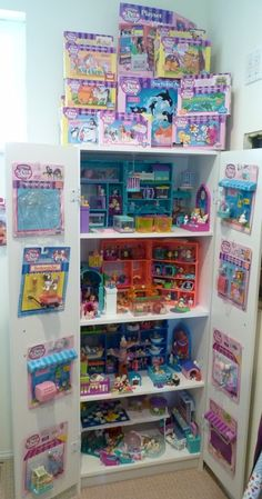 The original Littlest Pet Shop. My collection wasn't quite as good, but pretty close.
