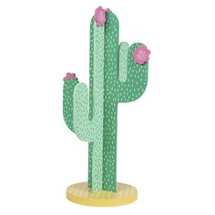 Cactus Jewellery Stand ($18) ❤ liked on Polyvore featuring home, home decor, jewelry storage, filler, contemporary home decor, colorful home decor and cactus home decor