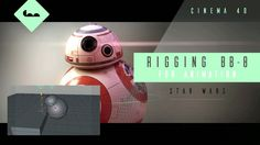 Rigging BB-8 from Star Wars in Cinema 4D, Rigging, Rigging in Cinema 4D, Cinema 4D, Cinema 4D Tutorials, Cinema 4D Tutorial, Free Cinema 4D Tutorials, c4d, c4d Tutorials