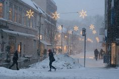 Lovely Christmas street