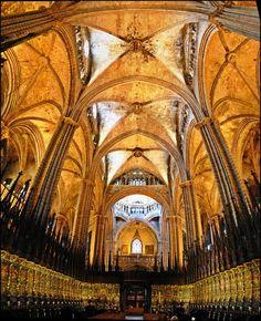 Barcelona Cathedral -  Pla de la Seu - El Barri Gotic - Catalunya - Spain - [By…