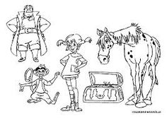 Pippi Longstocking Coloring Pages Coloring Pictures For Kids, Coloring Pages For Kids, Coloring Sheets, Marvel Coloring, Adult Coloring, Palm Tree Clip Art, Transformers Coloring Pages, Kindergarten Portfolio, 3rd Grade Writing