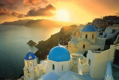 Santorini, Greece - So beautiful.  This is on my must-see list.