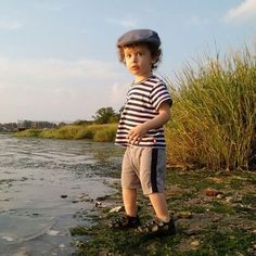 #children thrive on #exploration and #nature - Lovely picture @menuchadesign wearing the #classic #zutanostripes in such a cool #fashion