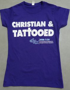 Can be a Christian and have tattoos. Man judge outward appearances, but God looks at the heart.