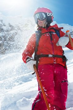 Matilda Rapaport in Heli Alpine Jacket and Pants