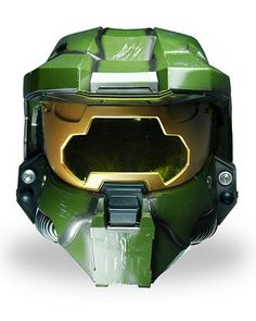 Mask- Halo 3 Master Chief Helmet Deluxe  sc 1 st  Pinterest & Halo 3 Master Chief Adult | Wholesale Clearance Halloween Costume ...
