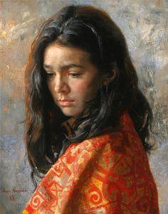 Arsen+Kurbanov+1969+-+Russian+Portrait+painter+-+Tutt%27Art@+%2814%29