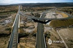 Libramiento en Durango para entrar a la Autopista Bridge, Walk In, Bridges, Scenery, Bridge Pattern, Attic, Bro