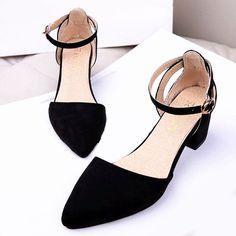 Low Heel Summer Shoes
