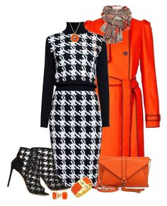 Houndstooth by kazza-smith on Polyvore featuring polyvore, fashion, style, Rumour London, Kenzo, Nicholas Kirkwood, Milly, Tory Burch, Bling Jewelry, Charter Club and clothing