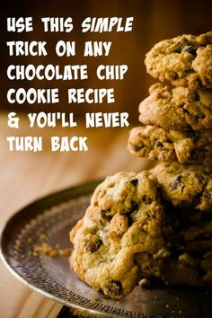 You've got to try this chocolate chip cookie baking trick!