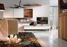 Dekoideen * Ideen fürs Wohnzimmer * Wohnzimmereinrichtung * livingroom * home * now! by hülsta