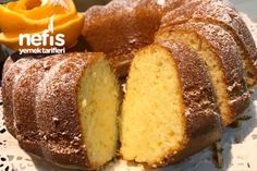 Portakallı Kek – Nefis Yemek Tarifleri – How to Make Orange Cake Recipe? The illustrated explanation of the Orange How To Make Orange, Wie Macht Man, Fresh Vegetables, Yummy Cakes, Banana Bread, Cake Recipes, Deserts, Food And Drink, Yummy Food