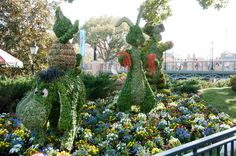 Disney Topiaries | by Dave-T