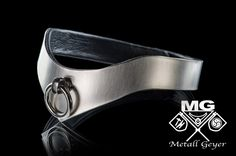 Luxury stainless steel collar ring of O BDSM Sub from Metall Geyer Ketten- und Edelstahldesign, Blech- und Metallbearbeitung by DaWanda.com