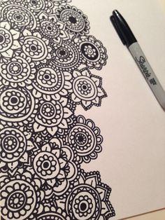 Dani Hoyos Zentangle Art