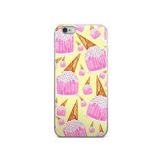 I SCREAM CAKE iPhone 5/5s/Se, 6/6s, 6/6s Plus Case