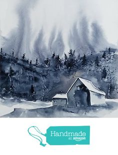 ORIGINAL painting watercolor painting WATERCOLOR Painting,watercolor landscape, Pinetreeart, WATERCOLOR, landscape original, painting from Maine ARTist http://www.amazon.com/dp/B01G9BTIJW/ref=hnd_sw_r_pi_dp_8hlsxb07K08QS #handmadeatamazon