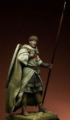 Imagen Larp Armor, Knight Armor, Knights Hospitaller, Knights Templar, Medieval Knight, Medieval Armor, Knight Models, Military Action Figures, Modelos 3d
