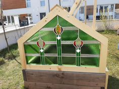Advent Calendar, Outdoor Structures, Holiday Decor, Home Decor, Glass House, Arts And Crafts, Decoration Home, Room Decor, Advent Calenders