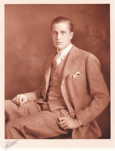 Vincent Price on his 18th birthday
