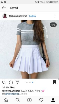 Black Skater Skirts, Fashion, Moda, Fashion Styles, Fashion Illustrations