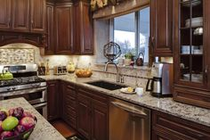 Epiphany Kitchens's Design, Pictures, Remodel, Decor and Ideas - page 3 House Color Schemes, House Colors, Kitchen Colors, Kitchen Design, Kitchen Backsplash, Kitchen Cabinets, New Kitchen, Kitchen Ideas, Crushed Glass
