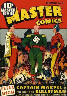Captain Nazi as a rival of Captain Marvel (1941)