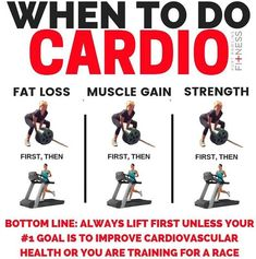 This post is specifically referring to doing your strength training and cardio in the same session. For fat loss, your first priority will be nutrition and specifically a calorie deficit. After that, strength training should be #2 on the list. It will have a much more profound impact on fat loss than cardio. Cardio burns calories, and *can* raise metabolism for 24-48 hours if done at a high enough intensity (HIIT). For gaining muscle, you should prioritise weight training over cardio.