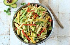 Colorful Pasta Salad (Vegan  Gluten Free)